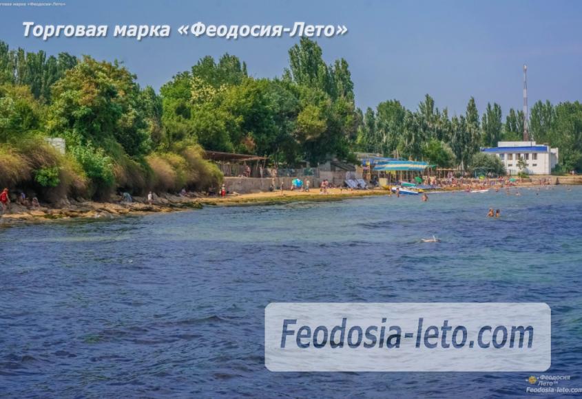 Пляж Лазурный берег (Динамо) в Феодосии - фотография № 10