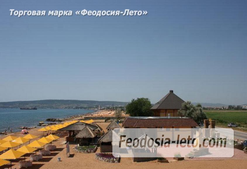 Золотой пляж в Феодосии - фотография № 4
