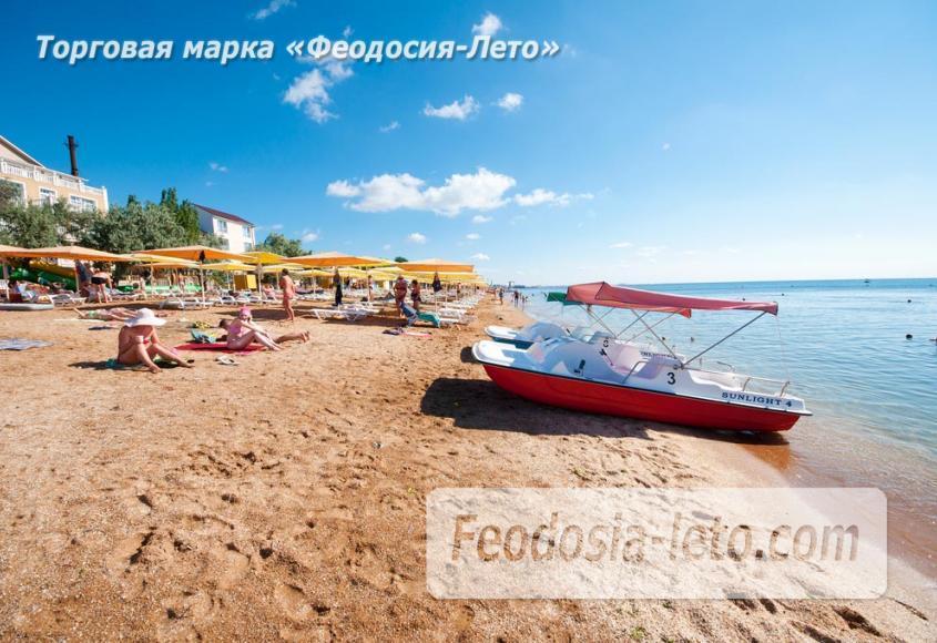Пляж Жемчужный в Феодосии - фотография № 15