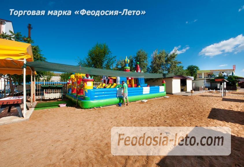 Пляж Жемчужный в Феодосии - фотография № 4