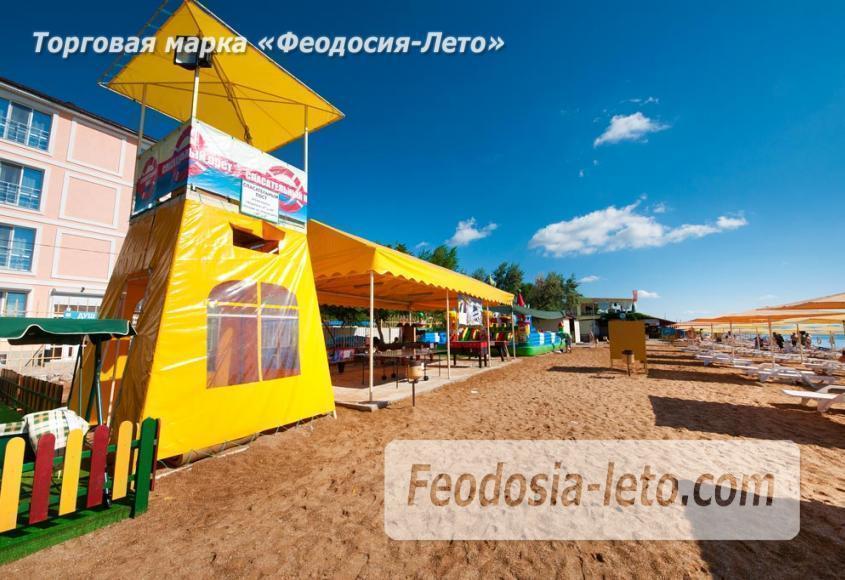 Пляж Жемчужный в Феодосии - фотография № 11