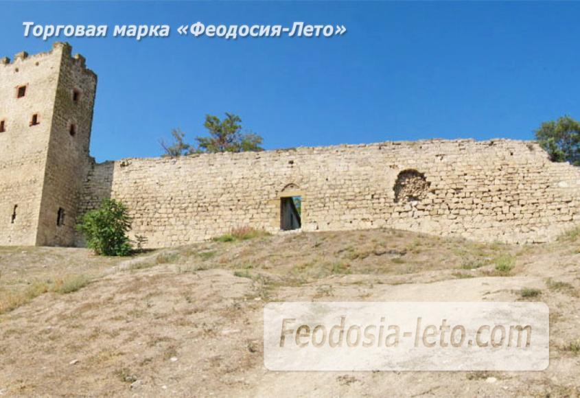 Генуэзская крепость в Крыму - Феодосия - фотография № 1