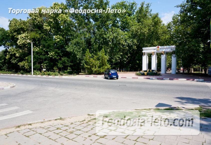 Комсомольский парк в Феодосии - парки города - фотография № 1