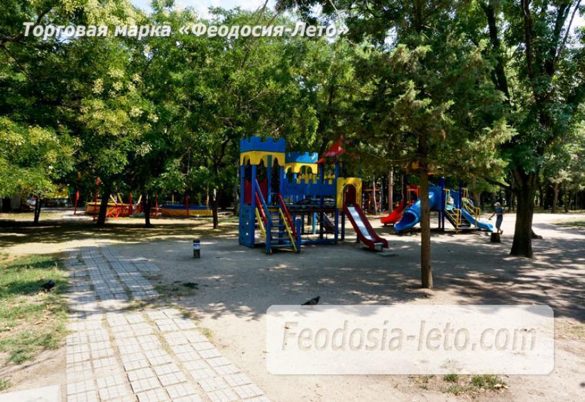 Комсомольский парк в Феодосии - парки города - фотография № 3