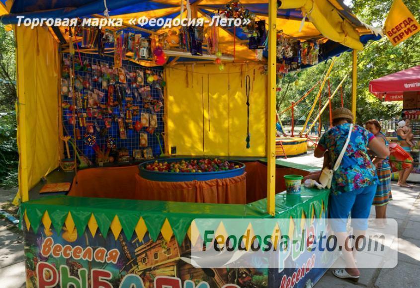 Комсомольский парк в Феодосии - парки города - фотография № 12