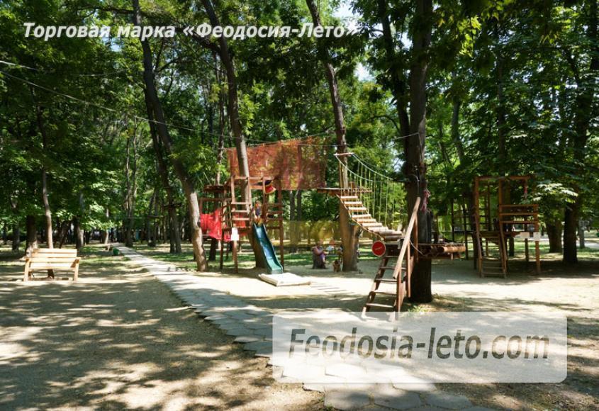 Комсомольский парк в Феодосии - парки города - фотография № 15
