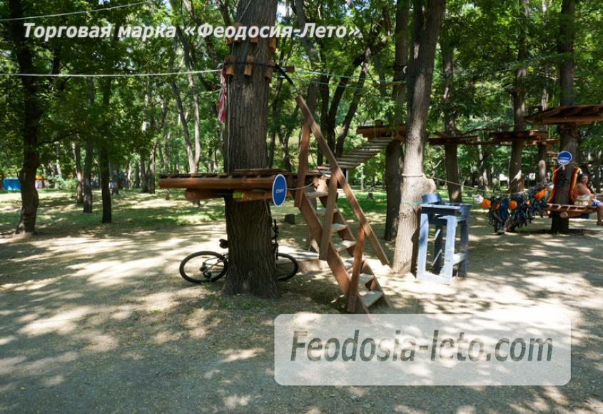 Комсомольский парк в Феодосии - парки города - фотография № 16