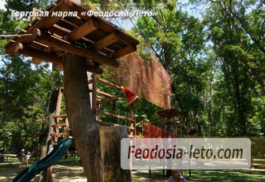 Комсомольский парк в Феодосии - парки города - фотография № 18