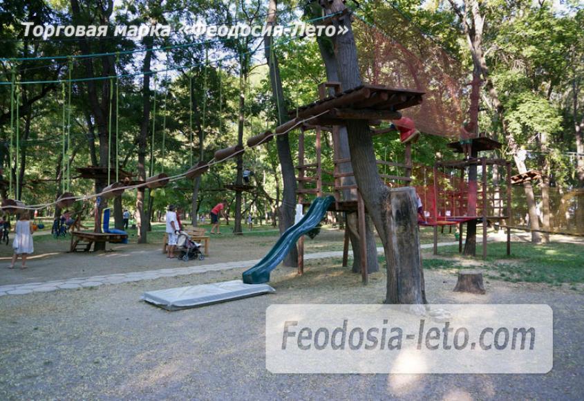 Комсомольский парк в Феодосии - парки города - фотография № 32