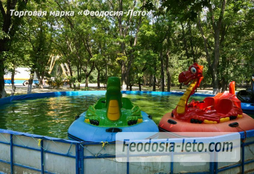 Комсомольский парк в Феодосии - парки города - фотография № 8