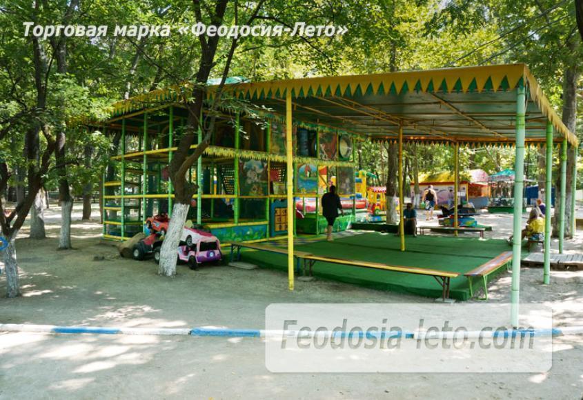 Комсомольский парк в Феодосии - парки города - фотография № 9