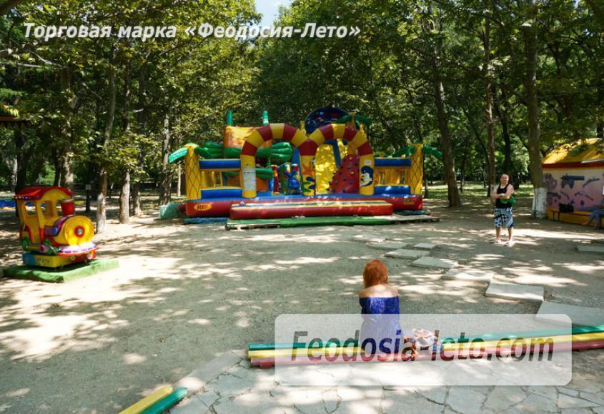 Комсомольский парк в Феодосии - парки города - фотография № 11