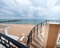 Крым, Феодосия, золотой пляж эллинги - фотография № 15