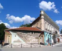 Что находится рядом с гостиницей в центре Феодосии - фотография № 3