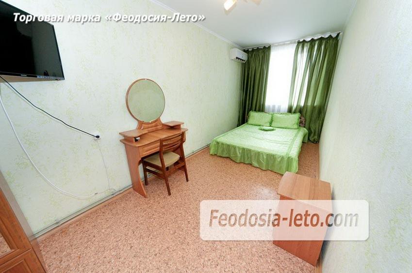 Зелёная спальня квартиры