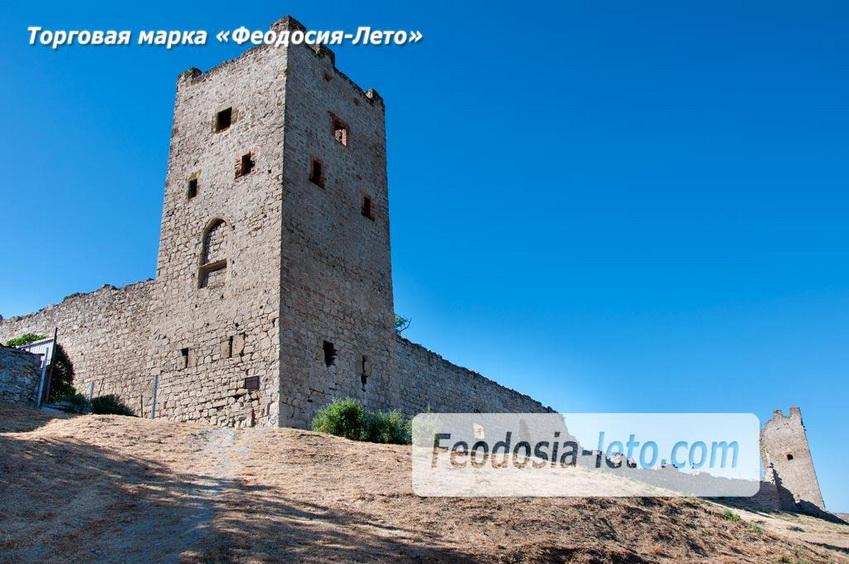 Сторожевая башня Генуэзской крепости