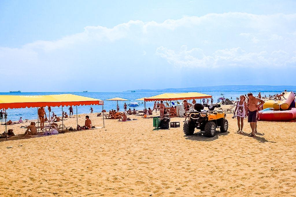 огурцов пляж в береговом феодосия фото жизнь