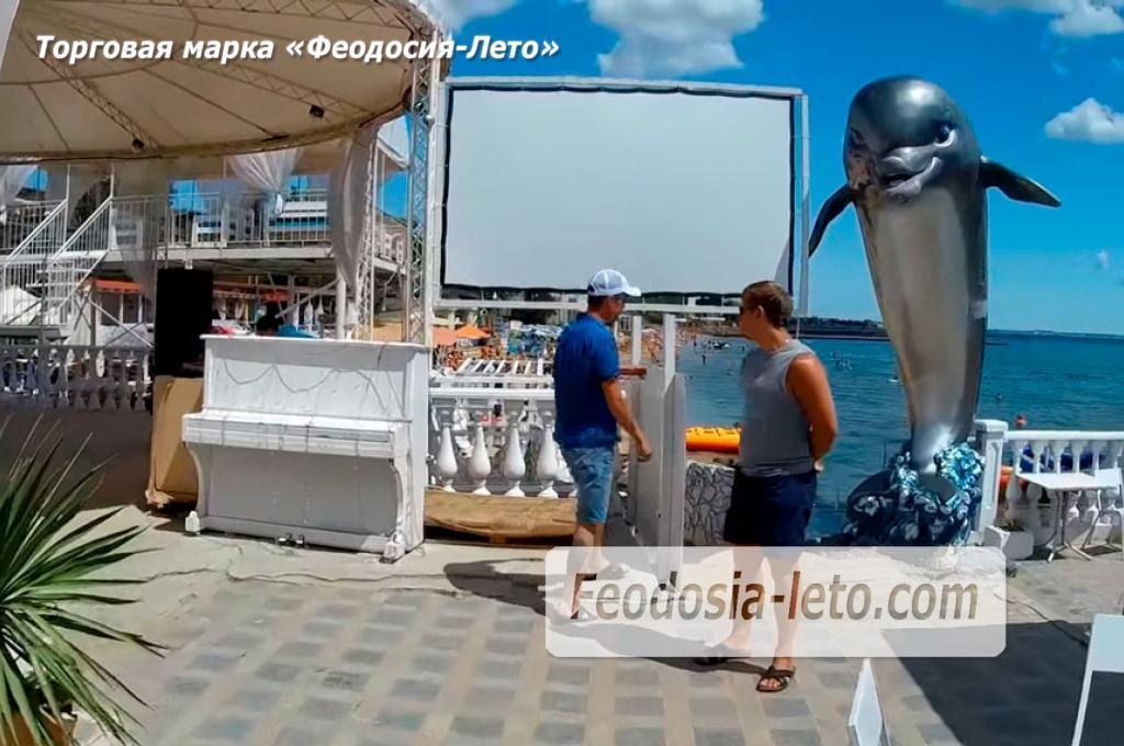 Феодосия отдых в кафе на набережной