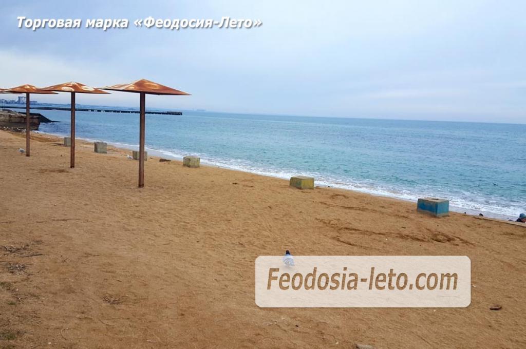 Феодосия пляж Динамо, реконструкция