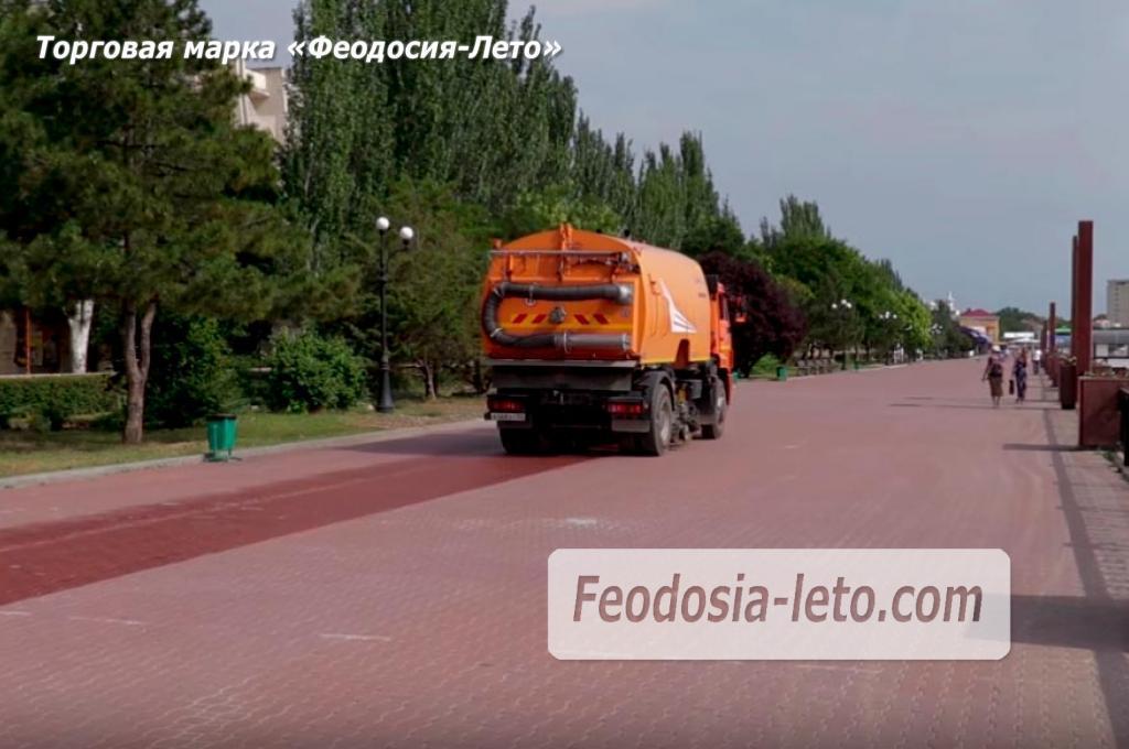Пляжи Феодосии и город приводят в порядок