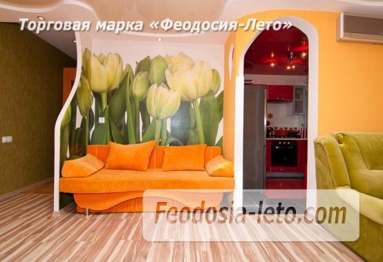 1 комнатная блистательная квартира в Феодосии на улице Галерейная, 13 - фотография № 2