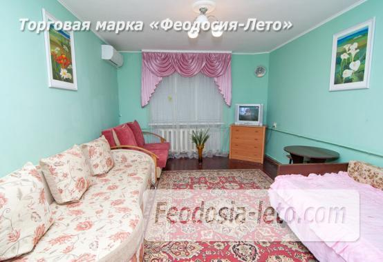 1 комнатная квартира в голубых тонах в Феодосии, бульвар Старшинова, 19 - фотография № 13