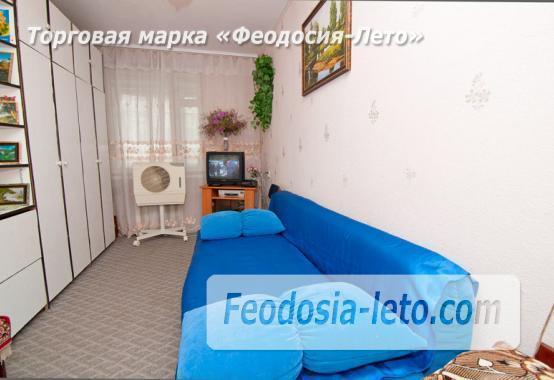 1 комнатная квартира в голубых тонах в Феодосии, бульвар Старшинова, 19 - фотография № 4