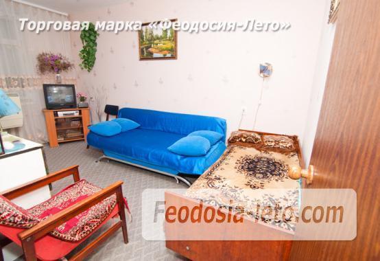 1 комнатная квартира в голубых тонах в Феодосии, бульвар Старшинова, 19 - фотография № 5