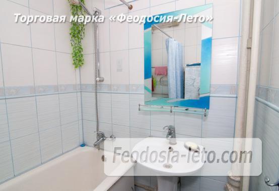 1 комнатная квартира в голубых тонах в Феодосии, бульвар Старшинова, 19 - фотография № 10