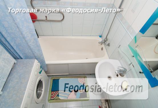 1 комнатная квартира в голубых тонах в Феодосии, бульвар Старшинова, 19 - фотография № 11