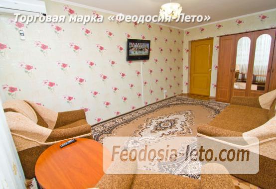 1 комнатная восхитительная квартира в Феодосии на бульваре Старшинова, 8-А - фотография № 3
