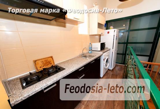 2-комнатная двухуровневая квартира с персональной парковкой в Феодосии - фотография № 11