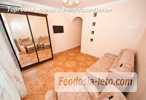 2 комнатная блестящая квартира в Феодосии, Черноморская набережная - фотография № 2