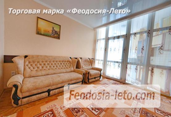 2 комнатная блестящая квартира в Феодосии, Черноморская набережная - фотография № 15
