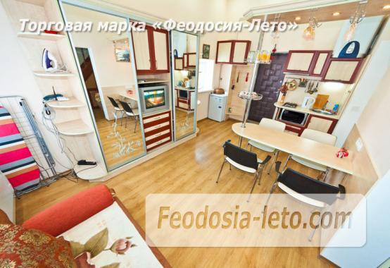 2 комнатная двухуровневая квартира в Феодосии, улица Федько, 6 - фотография № 6