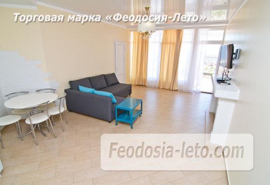 2 комнатная креативная квартира в Феодосии, Черноморская набережная - фотография № 9