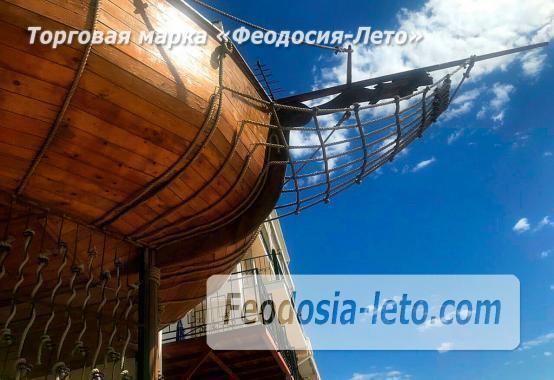 Эллинг с кухней на Золотом пляже в Феодосии - фотография № 1