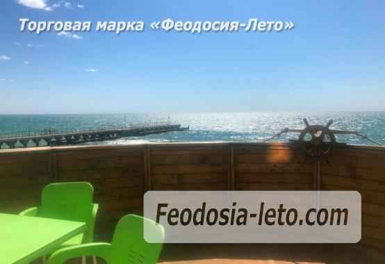 Эллинг с кухней на Золотом пляже в Феодосии - фотография № 3