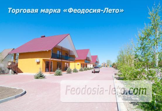 База отдыха на Золотом пляже в Феодосии на Керченском шоссе - фотография № 11