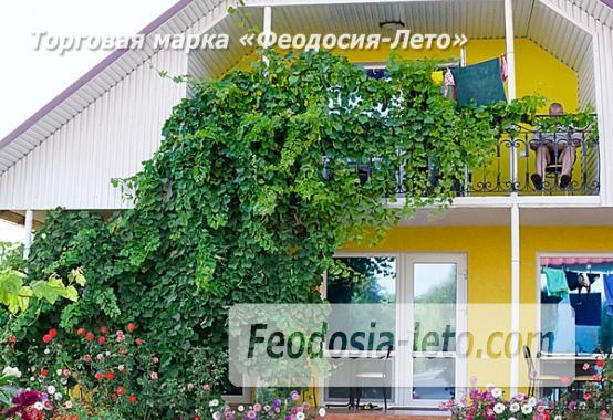 База отдыха на Золотом пляже в Феодосии на Керченском шоссе - фотография № 64