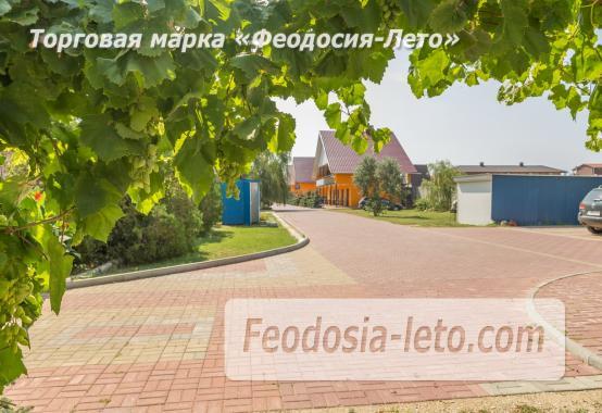 База отдыха на Золотом пляже в Феодосии на Керченском шоссе - фотография № 15