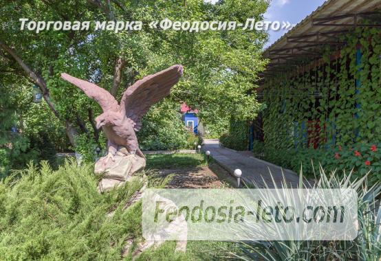 База отдыха на Золотом пляже в Феодосии на Керченском шоссе - фотография № 16