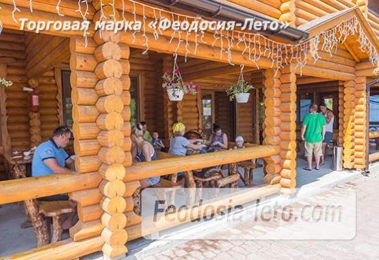 База отдыха на Золотом пляже в Феодосии на Керченском шоссе - фотография № 83