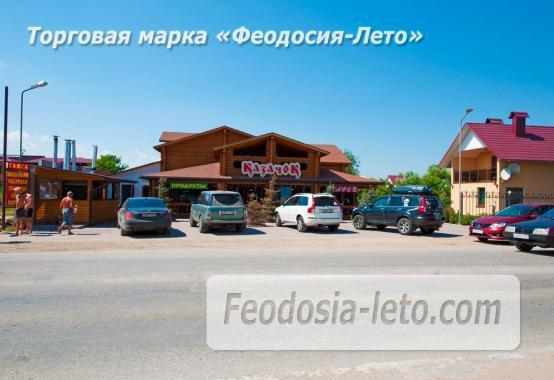 База отдыха на Золотом пляже в Феодосии на Керченском шоссе - фотография № 87