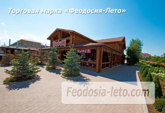 База отдыха на Золотом пляже в Феодосии на Керченском шоссе - фотография № 88