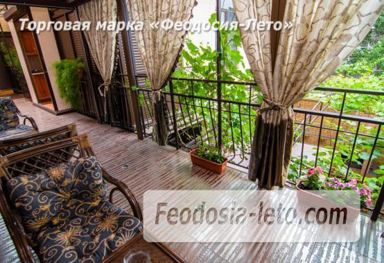 Частная вилла с бассейном на улице Вересаева в Феодосии - фотография № 12