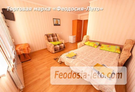 Дом отдыха в Феодосии напротив Черноморской набережной на улице Федько - фотография № 8