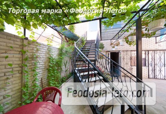 Дом отдыха в Феодосии напротив Черноморской набережной на улице Федько - фотография № 12
