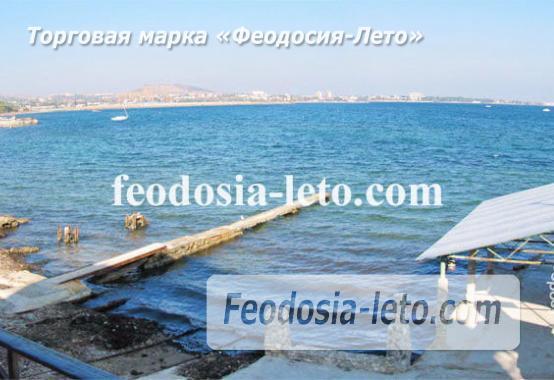 Эллинги в Феодосии рядом с Генуэзской крепостью - фотография № 2