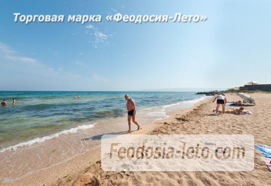 Эллинг на берегу моря на Золотом пляже в Феодосии - фотография № 6